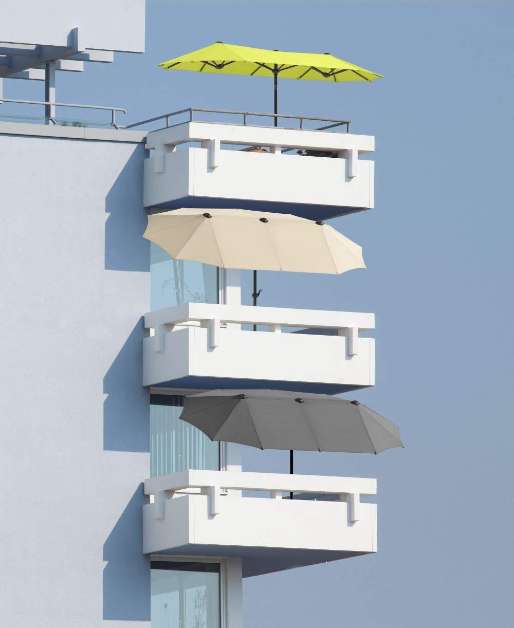 Rectangular 300/x 150/x 220/cm ca Natural 300/x 150/cm /02/Schneider Paraguas Salerno Schneider Schirme 746/ Color Beige