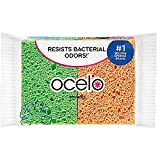 O-Cel-O Handy Sponges, Assorted Colors, 4 Count (Pack of 4) Total 16 Sponges