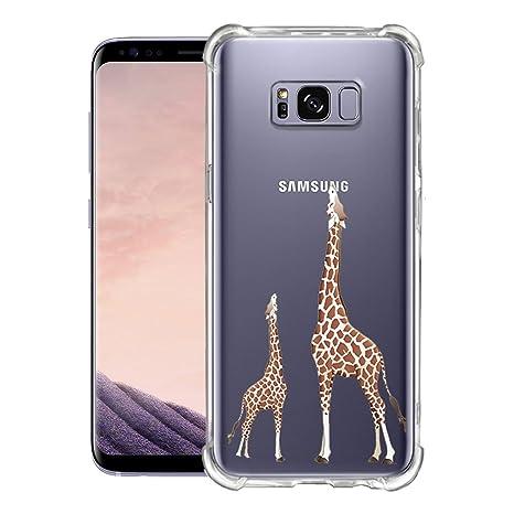 Funda Samsung Galaxy S8 Transparente,Dibujos Animados, Anti ...