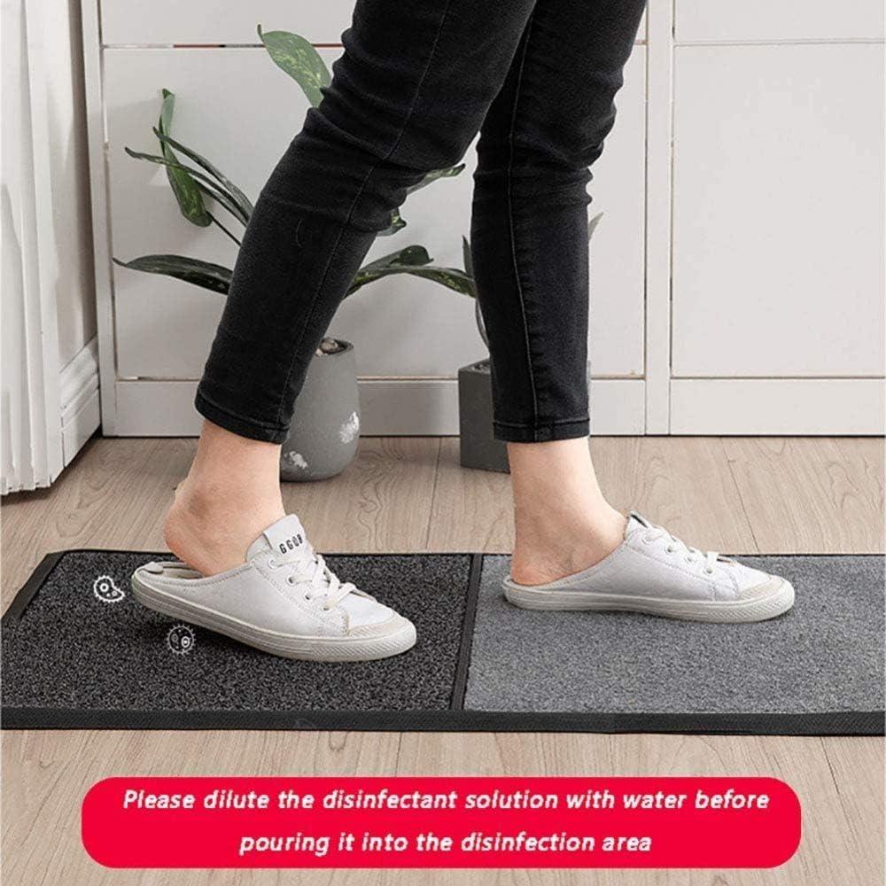 XUEER Multifonction D/ésinfection Pad Mat Mat Sanitizing p/édiluve Tapis Tapis Porte,Marron Chaussures Soles d/ésinfectantes Tapis Nettoyage Pied Tapis