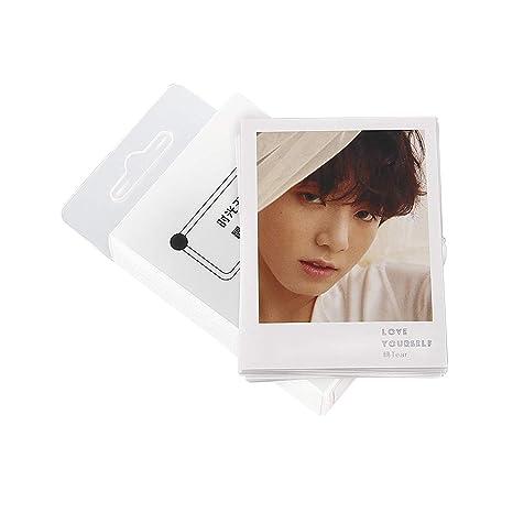45pcs Set New Kpop Bts Signature Album Lomo Card Love Yourself Tear