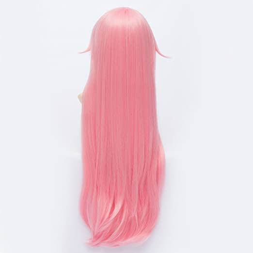 Amazon.com : Cute sweet Cosplay Japanese straight long Future Diary Yuno Gasai cosplay wig : Beauty