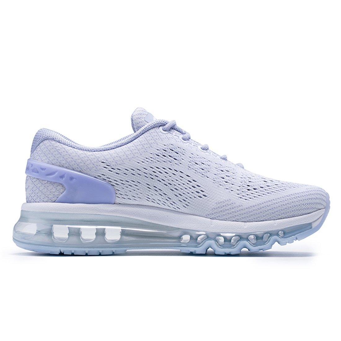 Zapatillas de Correr con Malla de Aire Transpirable y dise/ño de leng/üeta Especial Onemix Zapatillas de Deporte Ligeras para Mujer