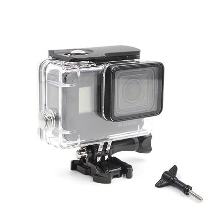 TELESIN impermeable buceo caso para GoPro Hero 5 /Hero 6, 45 ...