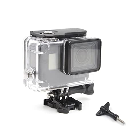 TELESIN impermeable buceo caso para GoPro Hero 5 /Hero 6, 45 m ...