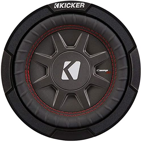 """Kicker CompRT Single 6.75"""" Max 2 Ohm Shallow Slim Car Subwoofer review"""