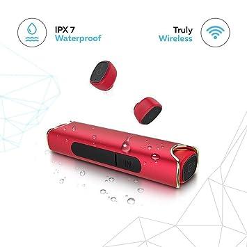 Inalámbrico Auriculares mejores auriculares Bluetooth con micrófono IPX7 impermeable a prueba de sudor Deportes estéreo de