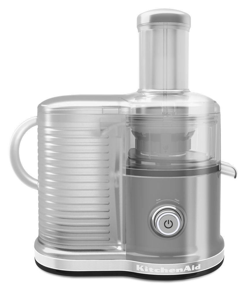 KitchenAid KVJ0333CU Easy Clean Juicer, Contour Silver