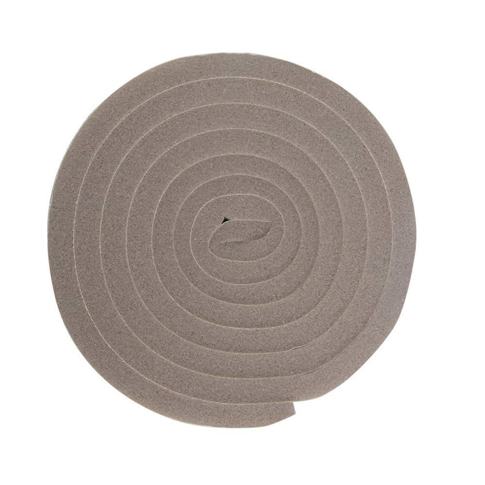 Seal Strip,FTXJ Door Window Foam Sticky Tape Strip Seal Noise Insulation Excluder Tape Roll (Brown, B:3cm x200cm)