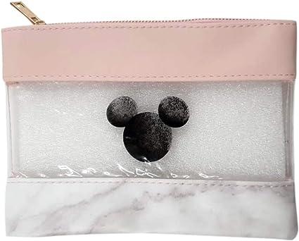 Disney - Estuche para lápices, diseño de Mickey Mouse, color rosa: Amazon.es: Oficina y papelería