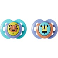 Tommee Tippee Fun Pacifier, 2 Count 0-6 Month 533068