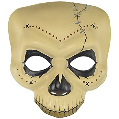 amscan Witch Doctor Skull Mask: Toys & Games