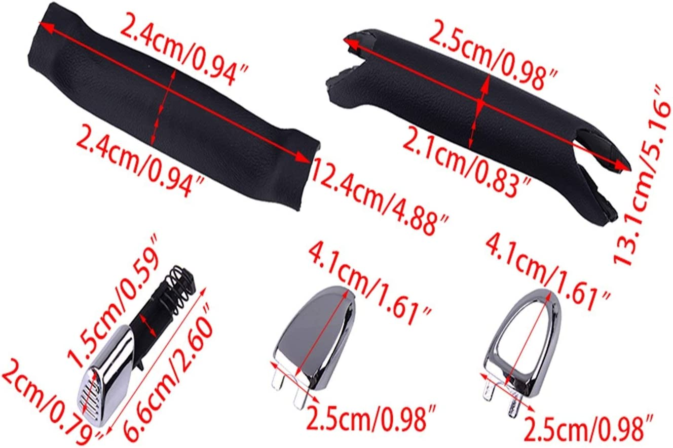XIAOFANG Fangxia Store Handbremse Griff Pad Park Haltestellenhebel 1774992 KIT for Ford Galaxy S-MAX 2006 2007 2008 2009 2011 2012 2012 2013 2014 2015