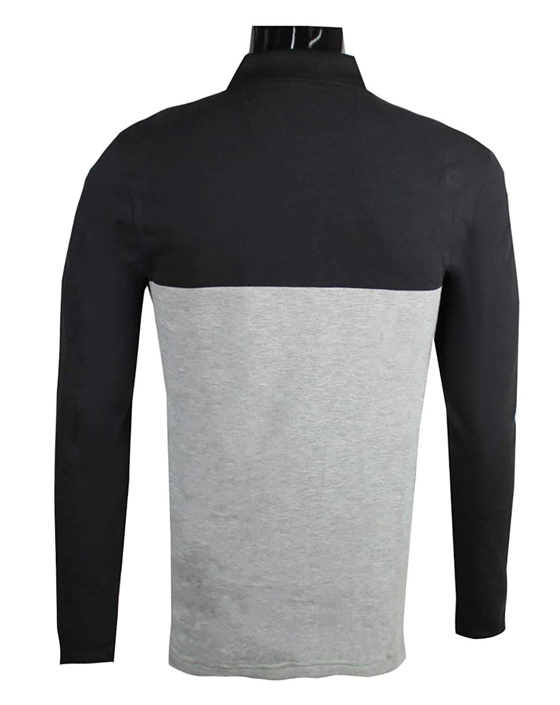 941daef13 Amazon.com: Hugo Boss Men's Pleesy 1 50379121 Slim-fit Cotton Polo Navy  Long Sleeve (Medium): Clothing