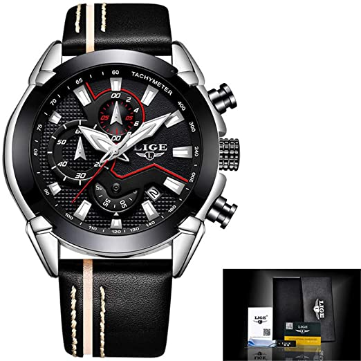 Relojes Deportivos para Hombres Reloj de Pulsera Digital de Gran Cara para Exteriores Relojes a Prueba de Agua Relojes retroiluminados Cronógrafo para ...