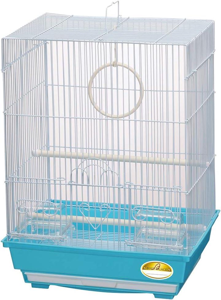 ミニマルランド 鳥かご バードパレス マリーン 幅34.5cm×奥行28cm×高さ47cm