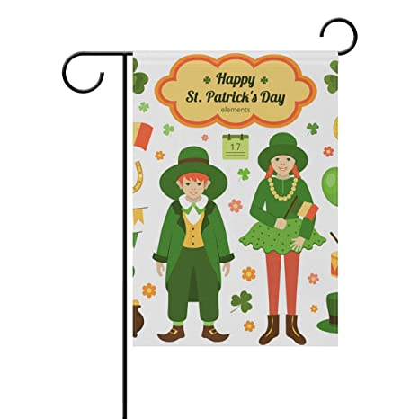 Amazon.com : Top Carpenter Elements St Patrick\'s Day Double-Sided ...