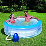 51108 77''x 21'' Inflatable Bubble Pool and Massage Spa