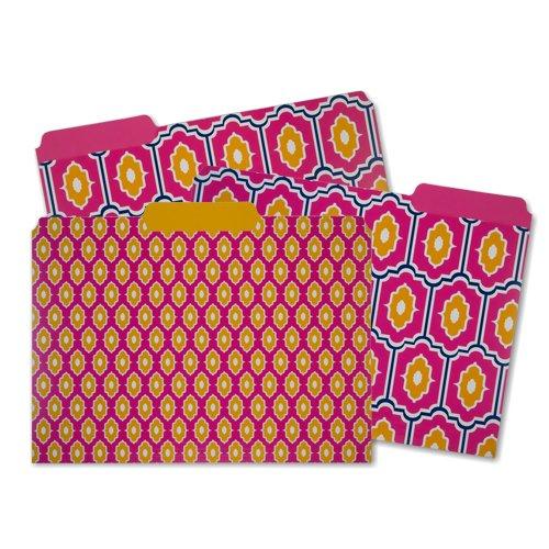 Capri Designs File Folders-Moroccan Tile