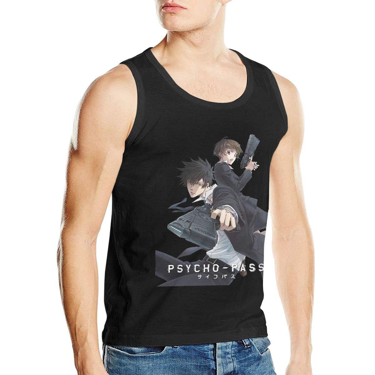 Psycho Pass Akane and Shinya Man Regular Sleeveless No Pocket Nerf Vest