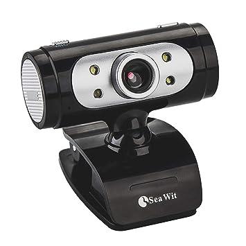 CHENGCHI HD Webcam 720P, Alta Definición con Micrófono y Luz LED, Compatible con Skype