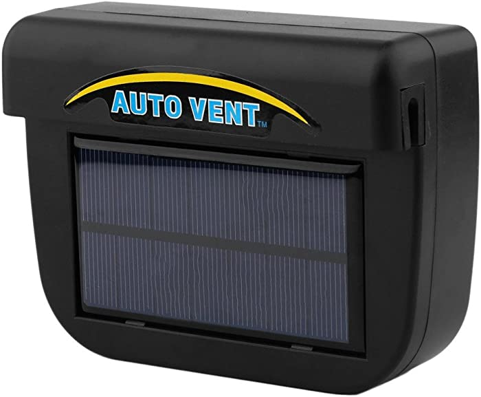 ABS Solar Powered Car Window Windshield Auto Air Vent Cooling Fan System Cooler
