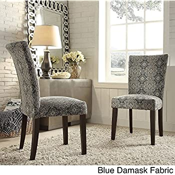 Amazon Com Catherine Print Parsons Dining Side Chair