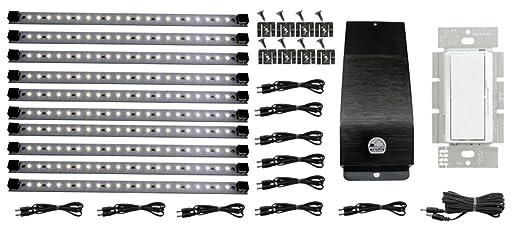 inspired led lighting. LED Hardwire Kitchen Light Kit | 10 Panels Dimmable System Included Warm White Inspired Led Lighting L