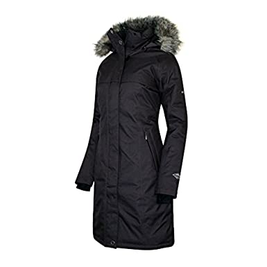 Columbia women's omni heat long down jacket