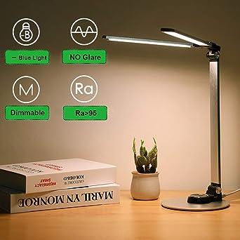 Lámpara de escritorio LED luz de escritorio de oficina lámpara de ...