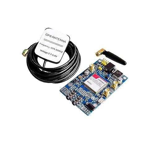 SIM808 Módulo gsm GPRS GPS, Tarjeta de Desarrollo IPX SMA ...