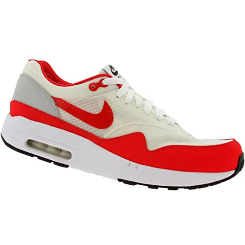 ed610af46c3d Nike Air Maxim 1 ND (White Sport red Neutral Grey) Size 9 US  Amazon ...