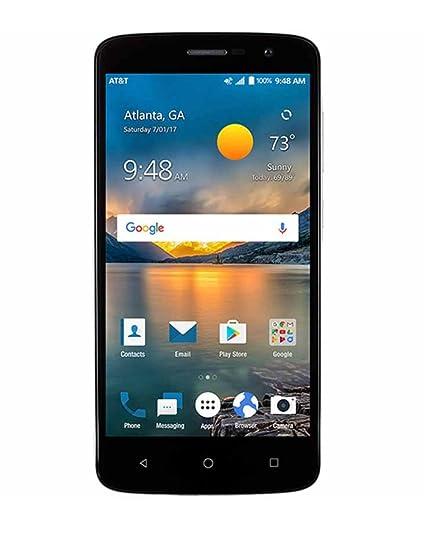 Amazon com: Zte Spark At&t Prepaid Go Phone 16GB 2GB RAM
