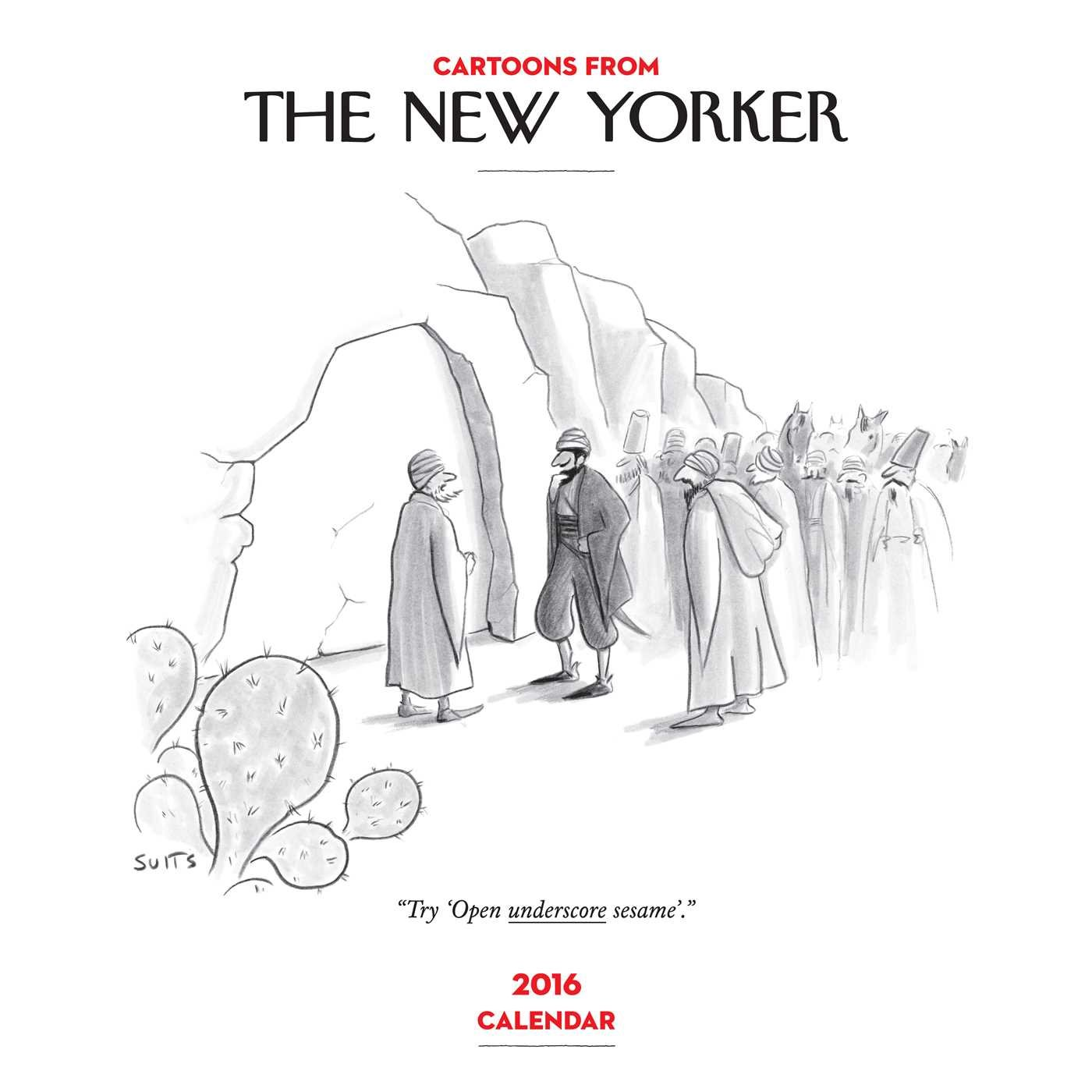 Cartoons from The New Yorker 2016 Wall Calendar PDF