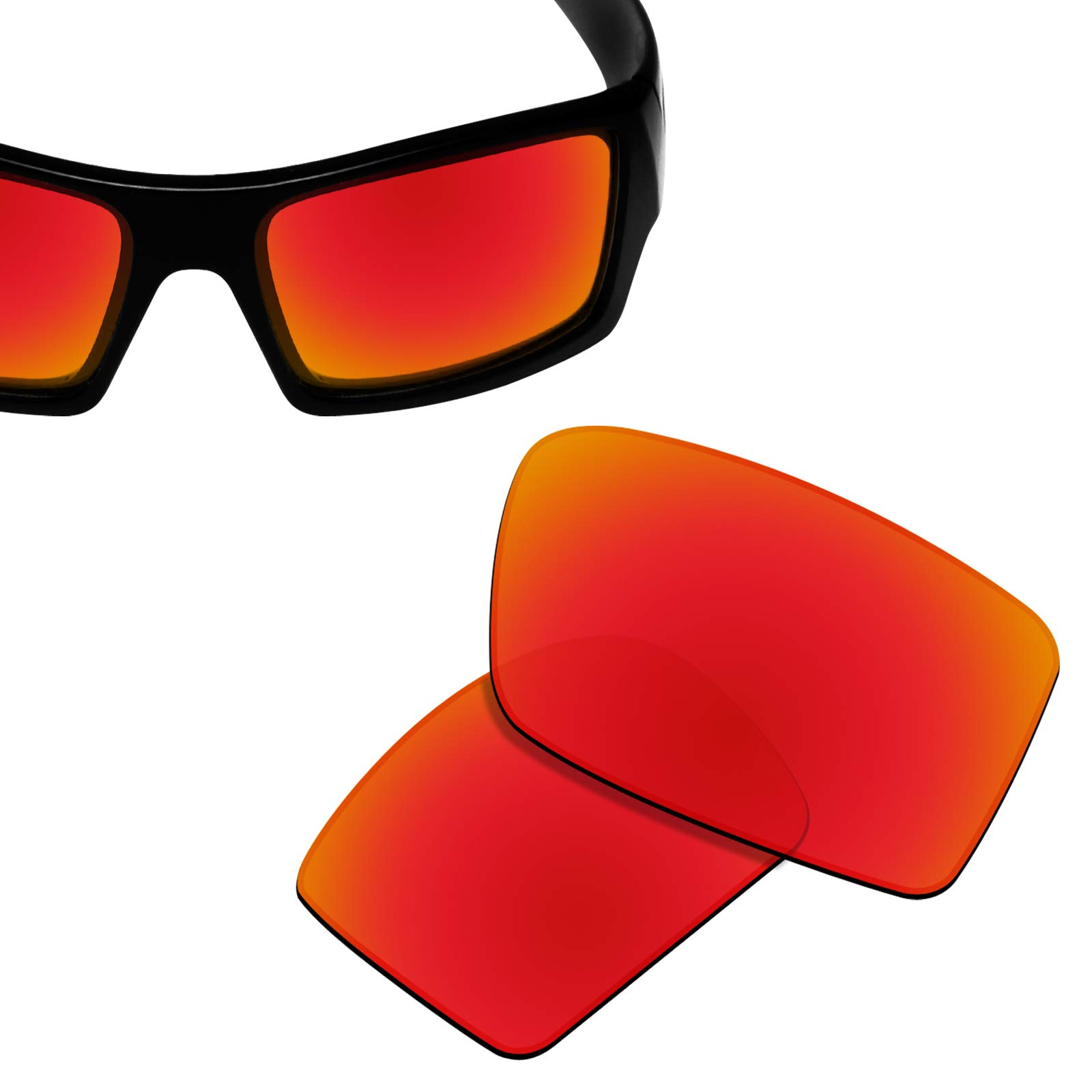 88aed37e5a New 1.8mm Thick UV400 Replacement Lenses for Oakley Gascan Sunglass -  Options product image