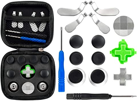 eXtremeRate - Palillos magnéticos de metal 18 en 1 para palancas de mano con llave de mano