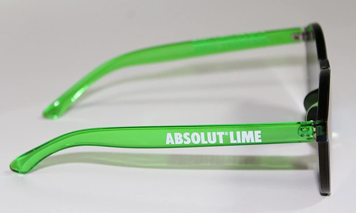 d8729f47e2d Amazon.com  Absolut Lime Mirrored Sunglasses  Clothing