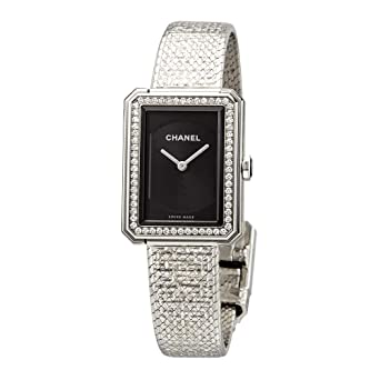 c663eb84c5a9 Image Unavailable. Image not available for. Color: Chanel Boy-Friend Ladies  Watch H4877
