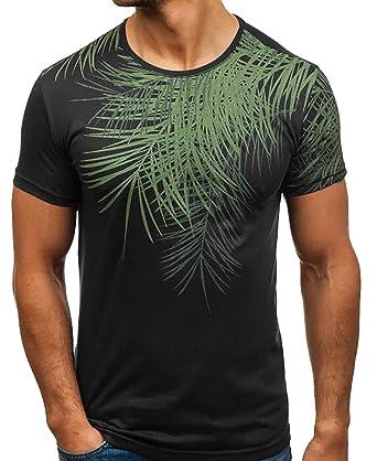Generic Mens Short Sleeve Polo Shirt Printed Casual Polo T Shirt