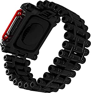 Element Case Black Ops Watch Band for Apple Watch Series 4/5/6/SE, 44mm - Black (EMT-522-244A-01)