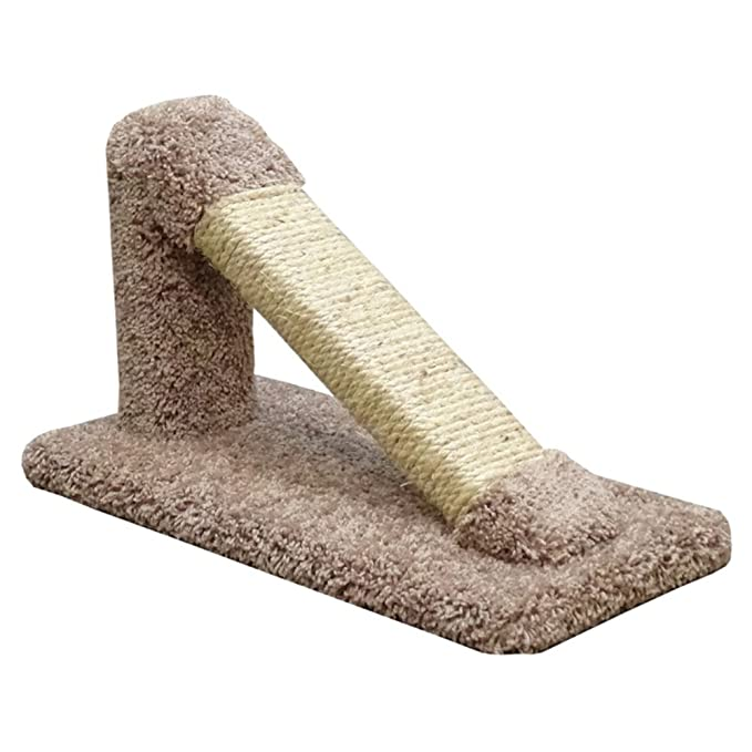 Pet Supplies Sisal & Fur Cat Post Scratcher With The Best Service Dishes, Feeders & Fountains