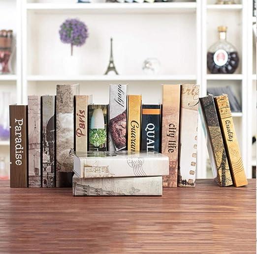 Libro Decorativo Serie Inglesa Libro Decorativo simulación apoyos ...
