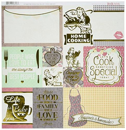 Bo Bunny BBU20801818 Kiss The Cook 12