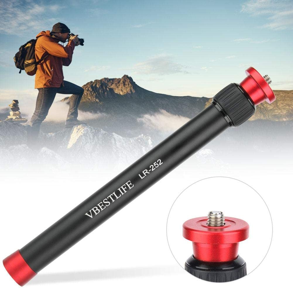 Aluminium Alloy Table Top Frame Extension Bar 26.5-44 CM Adjustable Desktop Tripod Extension Rod 2 Sections for Digital Camera//Cellphone for More Convenient Stable Photography Experience