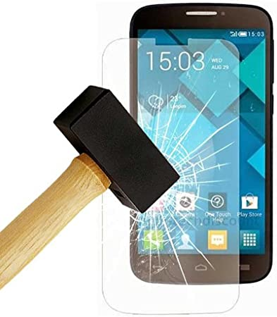 Protector de pantalla de vidrio templado para Alcatel One Touch Pop C7, color transparente: Amazon.es: Electrónica