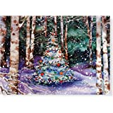 Festive Forest Holiday Boxed Cards (Christmas Cards, Holiday Cards, Greeting Cards) (Deluxe Holiday Card) (Deluxe Boxed Holiday Cards)