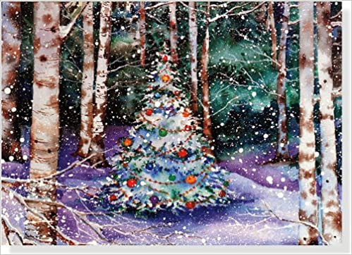 festive forest holiday boxed cards christmas cards holiday cards greeting cards deluxe holiday card deluxe boxed holiday cards peter pauper staff