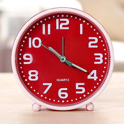 QRUPAF Reloj Digital Mesa Fruta Reloj Mesa Moda Reloj Despertador ...