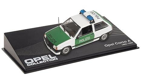 Générique Opel Corsa A Police Polizei 1:43 Scale -réf 93