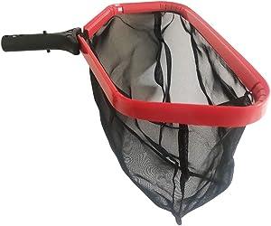 "Pool Skimmer Net Heavy Duty, Pro Grade 20"" Leaf Rake with Ultra Fine Mesh Deep Bag for Cleaning Leaves, Bug, Debris"